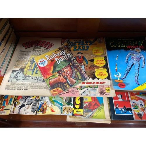 30 - A Collection of various comics and annuals which incudes DC Superman comics and 1960's superman annu...