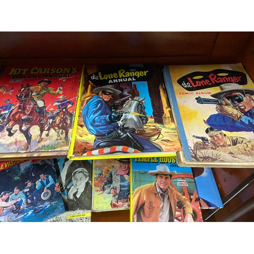 31 - A Collection of Annuals which includes Western Film and TV, Lions, Champion The Wonder Horse and oth...
