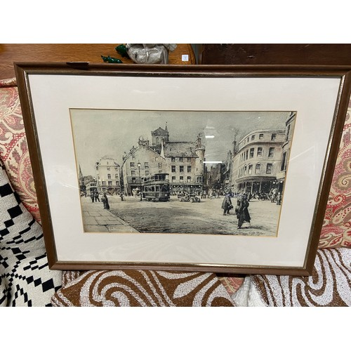 460 - C. G. L. Philips Original Watercolour titled 'Old Buildings, High St. Dundee....