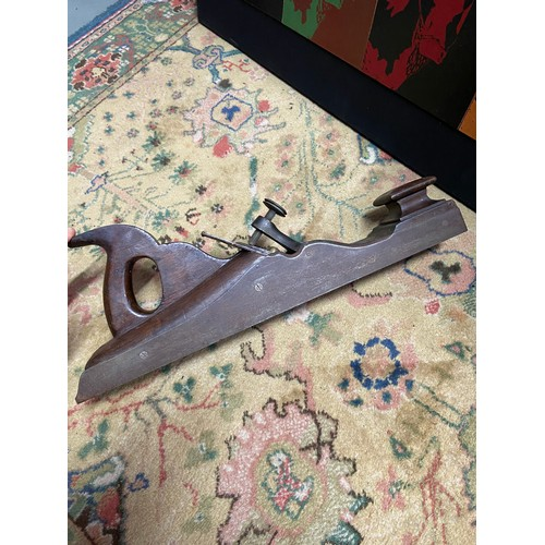 203A - A Nice example of a vintage joiners plane. Fitted with a Thos Ibbotson & co blade....