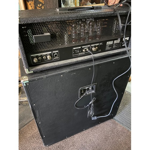 28 - A Bugera 333XL Amplifier together with Behringer speaker box. Both in a working condition....
