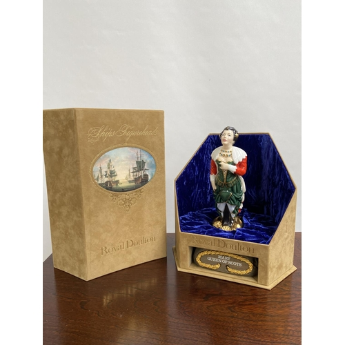 109 - A Rare Royal Doulton Ships Figureheads bust titled 'Mary Queen of Scots' HN2931 [limited edition 69/...