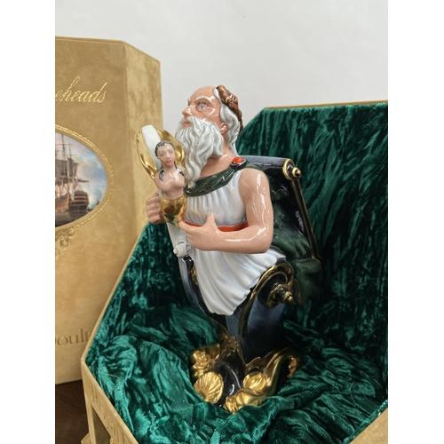110 - A Rare Royal Doulton Ships Figureheads bust titled 'Hibernia' HN2932 [limited edition 69/950] comes ...