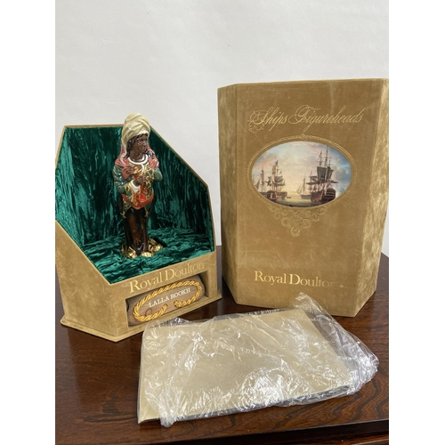 114 - A Rare Royal Doulton Ships Figureheads bust titled 'Lalla Rookh' HN2910 [limited edition 69/950] com...