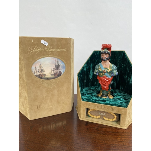 119 - A Rare Royal Doulton Ships Figureheads bust titled 'Ajax' HN2908 [limited edition 69/950] comes with...