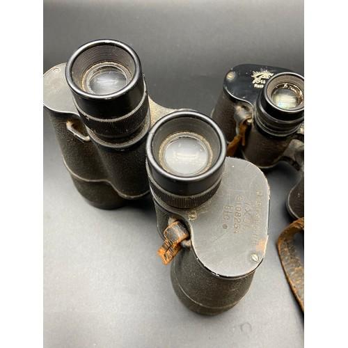 35 - Busch Helluxon Binoculars and Dienstglass binoculars