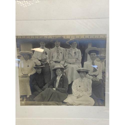 40 - An original framed photo of women golfers. The Studio Sheringham. [Framed by Doig, Wilson & Wheatley...