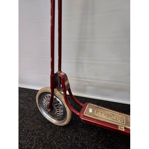 19 - A Vintage Tri- Ang children's scooter