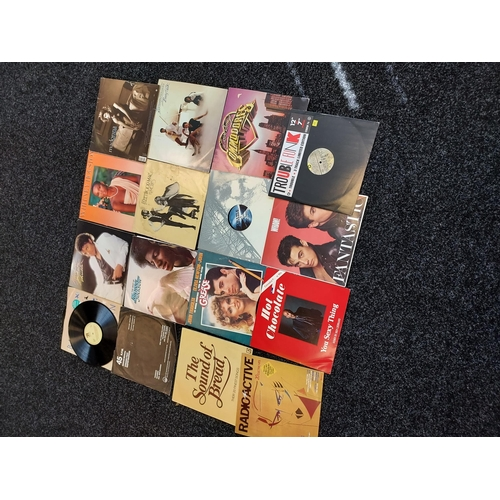31 - A lot of various records to include; Michael Jackson, Whitney Houston, Fleetwood Mac, Madonna, Greas...
