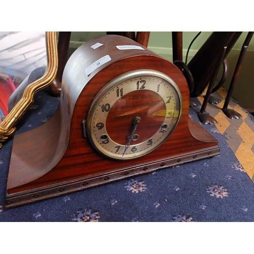 9 - Vintage mantle clock