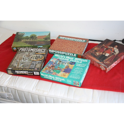 43 - Five Jigsaw Puzzles (All Complete)...