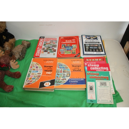 55 - Box of Gibbons Stamp Catalogues, etc....