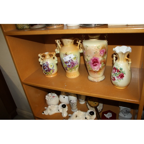 26 - Four Early 20th Century Vases...