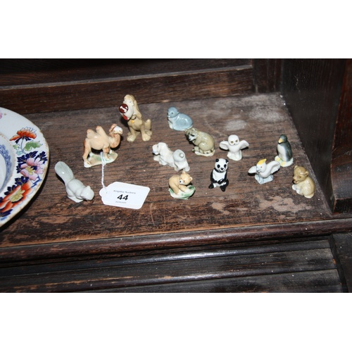 44 - Collection of Miniature Porcelain Animals in the