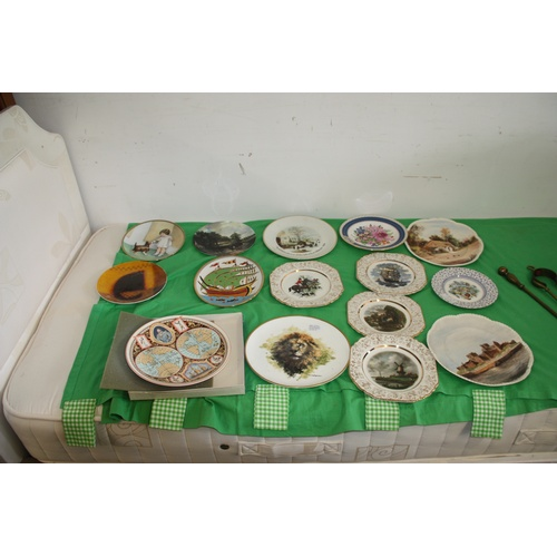 36 - Assorted Wall-Hanging Plates including Wedgwood, The David Shepherd World Wild Life Collection -