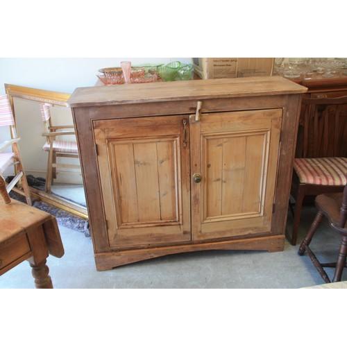 14 - Pine Two-Door Cupboard/Dresser...