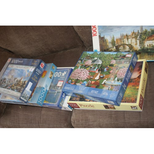 31 - Seven Jigsaw Puzzles including Three Sealed and Four Unsealed...