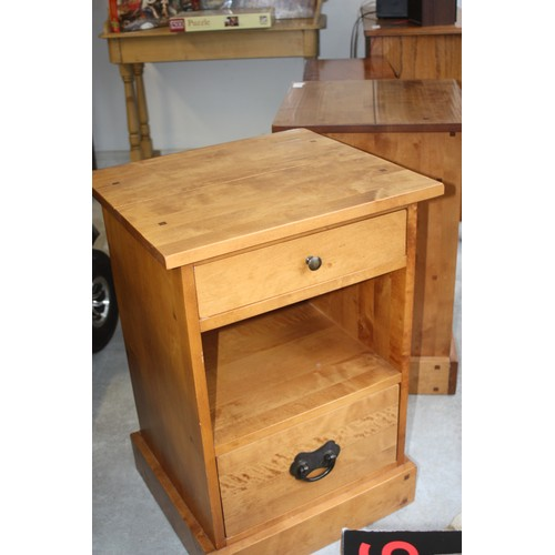 36 - Two Laura Ashley Bedside Cabinets having Two Drawers flanking an Open Shelf - 19