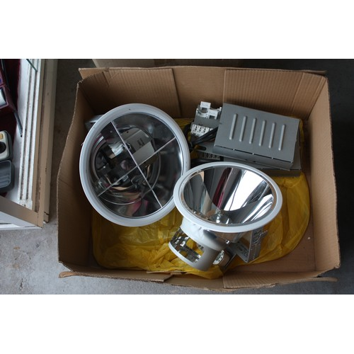 43 - Pair of Exterior Electric Lights (Boxed BNIB)...