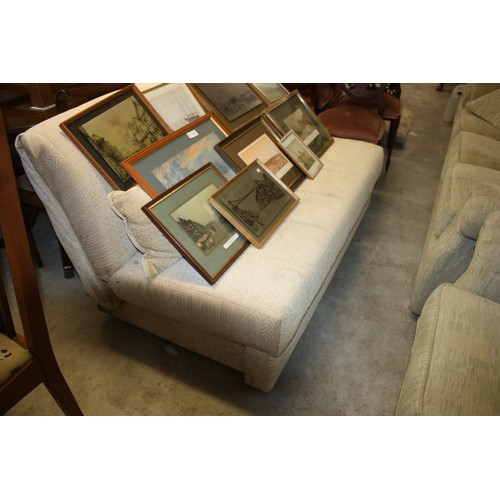 25 - Two-Seater Bed Settee...