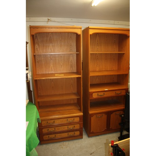 40 - Pair of Austin Suite Wall Units...