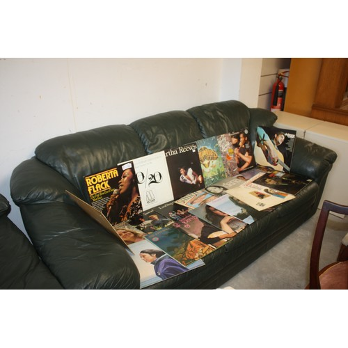 53 - Approx 24 LPs - American Soul Greats and Country/Folk including Roberta Flack