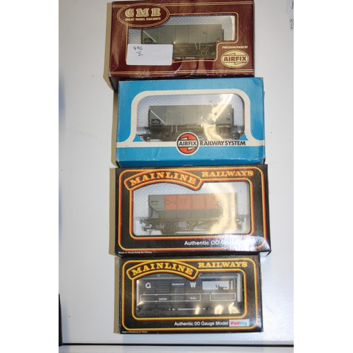 14 - Four Boxed Mainline./GMR/Airfix OO gauge Freight Wagons: Hopper Wagon Charingtons, BR 20 Ton Mineral...