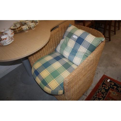 10 - One Wicker Chair