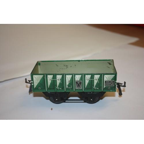 62 - Hornby (France) O Gauge Mineral Wagon (vgc)