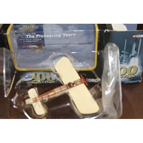 4 - Boxed Corgi- One Hundred Years of Flight Bleriot Monoplane M.I.B.