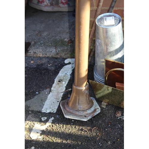 18 - VINTAGE STREET LAMP 235CM HIGH APPROX...