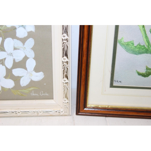46 - 5 X STILL LIFE PICTURES LARGEST 40CM X 50CM...