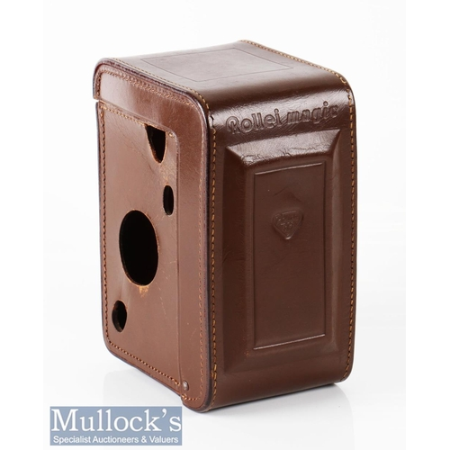2 - Rollei Magic series I 2508261 TLR camera Franke & Heidecke Xenar 1:3.5/75mm Prontormat-s, within lea...
