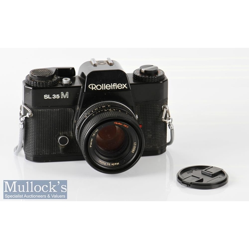 17 - Rolleiflex SL35M 35mm camera 4723890 Planar 1,8/50 Rollei-HFT, with lens cap, made in Singapore...