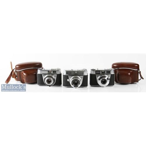 27 - Kodak Cameras to include Retina automatic II 79837 Schneider f:2,8/45mm, Retinette 1A 476938 Schneid...