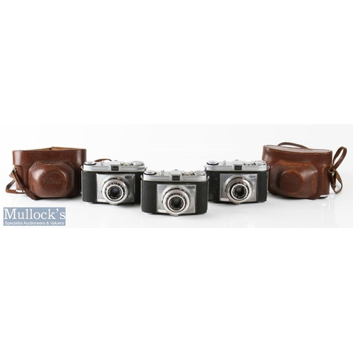 28 - Kodak Retinette Cameras to include 332104 Schneider/Reomar 1:3,5/45mm, 331961 Schneider/Reomar 1:3,5...
