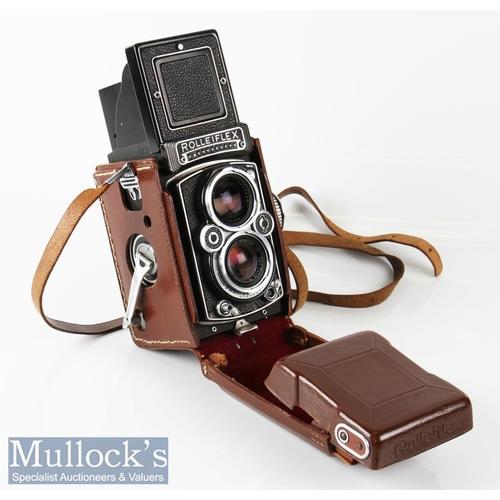 3 - Rolleiflex 1743087 3.5E type 1 TLR camera Franke & Heidecke Zeiss/Planar 1:3,5 f=75mm synchro compur...