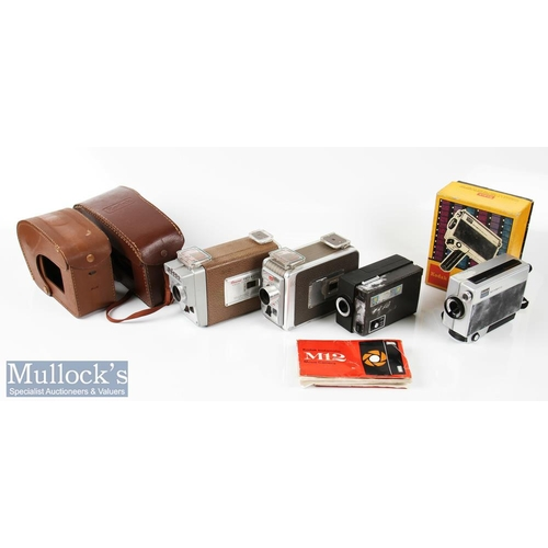 50 - Selection of Kodak Cine/Movie cameras to include Brownie 8mm movie camera II, Brownie Automatic came...