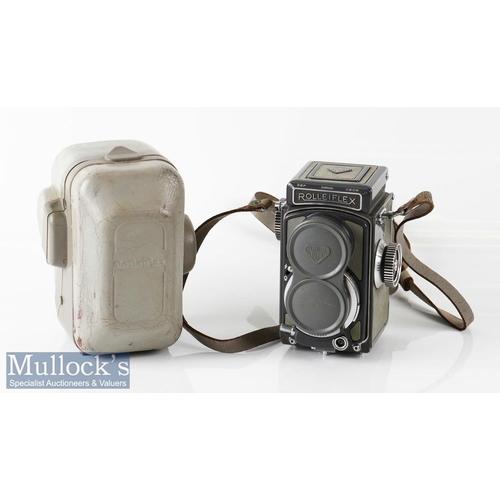 6 - Rolleiflex Grey Baby 2056248 TLR camera Franke & Heidecke Schneider/Xenar 1:3,5/60mm with lens cap, ...