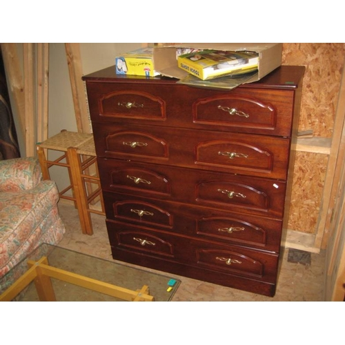 108 - 5 Drawer Chest...