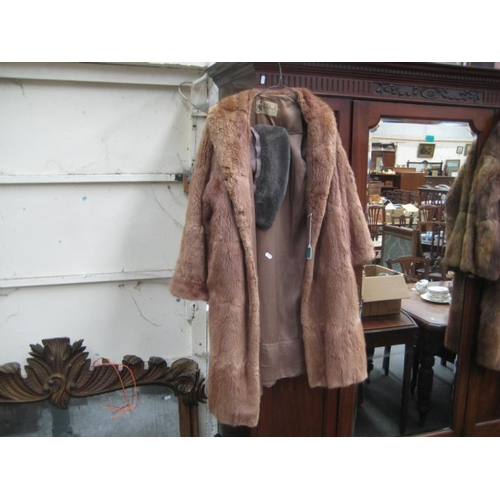 124 - Fur Coat by Jaffa of Belfast...