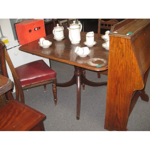 147 - Victorian Mahogany Breakfast Table...