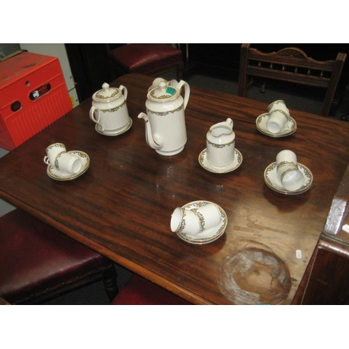 149 - 25 piece Porcelain Coffee Service...