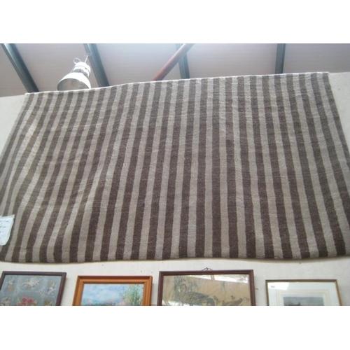 176 - Large Indian Gabby Wool Carpet...