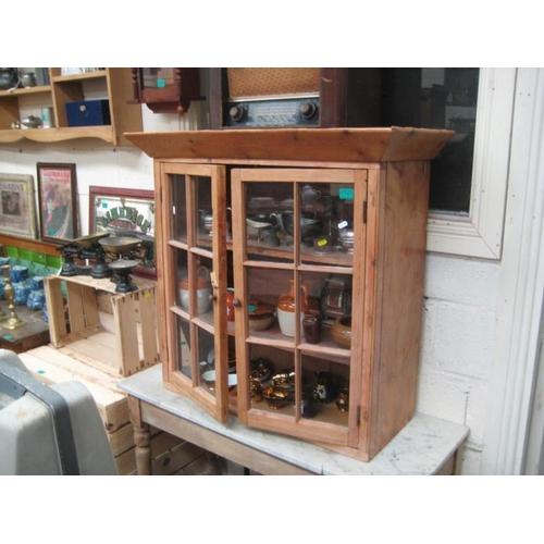 180 - Victorian Pine 2 door Wall Cabinet...