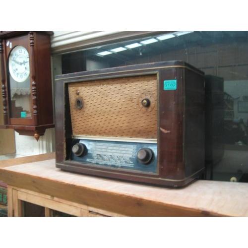 182 - Pye Valve Radio...
