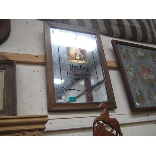 187 - Yardley Advertising Mirror...