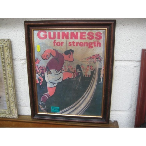 198 - Guinness for Strength Rugby Poster...