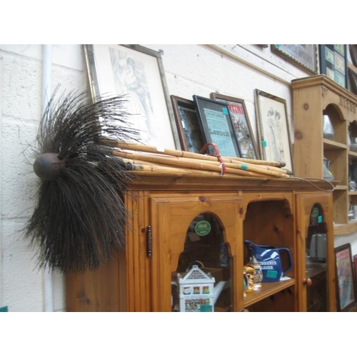 210 - Set of old Chimney Sweep Brushes...