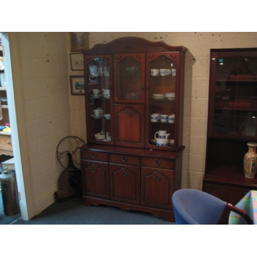 227 - 3 door Display Cabinet...